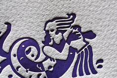 Sternzeichen Karte Wassermann von Druckerei Eisenhardt GmbH auf DaWanda.com