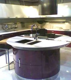 Round Kitchen Island round-kitchen-island-designs-172 — kitchen design ideas | unusual