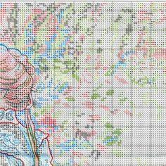 Схема вышивки В ее саду (Dimensions) 2 из 8