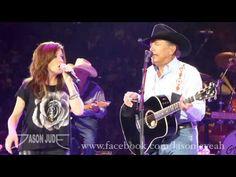 George Strait & Martina McBride - Golden Ring [HD] San Antonio 6·1·13