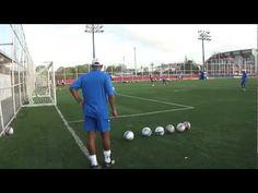 Goalkeeper Crosses and Shot Stopping Training - CoachTopix