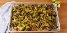 Looking for the best roasted broccoli recipe? You need to try this Bang Bang Broccoli. Roasted Broccoli Recipe, Broccoli Recipes, Vegetable Recipes, Vegetarian Recipes, Cooking Recipes, Healthy Recipes, Broccoli Salads, Cooking Ideas, Crockpot Recipes