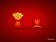 Campaign: McDonald's Fries: Before & After / Advertiser: Reza Food Services - McDonald's / Agency: Leo Burnett / Country: KSA / Creative Director: Flavio Santos & Mohammed Bahmishan / Art Director: Mario Lawandos / Award: Food / Drink Emerald