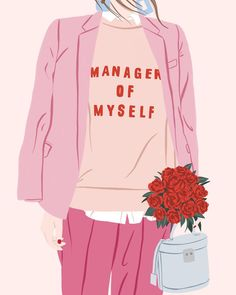 My name is Ana San José and I'm a Graphic ,Print and Accessories Creative Designer. Small hidden things that have the power to make life more beautiful. Woman Illustration, Digital Illustration, Wallpaper Fofos, Feminist Art, Poster S, Aesthetic Art, Illustrations, Powerful Women, Girl Boss