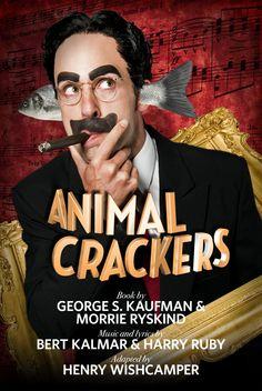 ANIMAL CRACKERS (2012): Mark Bedard as Captain Spaulding.  Photo by Jenny Graham.