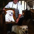 Read pet portraits testimonials and see photos of some of my happy clients for my pet portraits in oils.