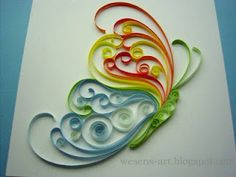 Homestead Survival: Tutorial: An introduction to paper quilling....this looks fun and I think some of my older children in daycare would like it :)