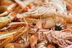 Fresh langoustines from our supplier Flying Fish #shellfish #flyingfish #amazingingredients