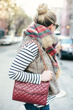 stripes + plaid // WIT & Whimsy