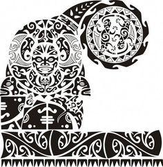 Resultado de imagen para plantillas para tatuajes maori hombre #Maoritattoos
