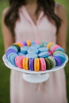 #macarons #idea #allestimento #festa #ospiti #IlVizietto