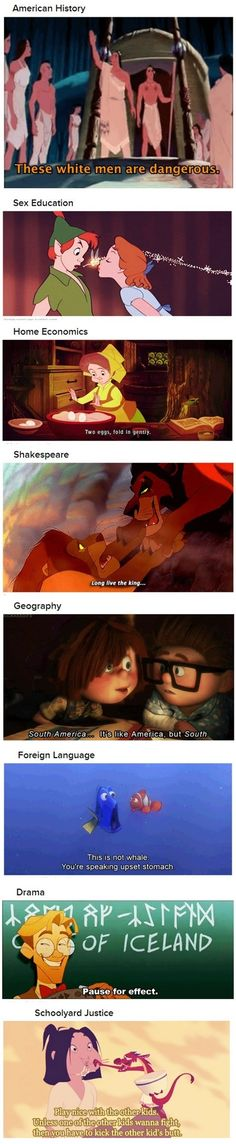 Things Disney taught me // funny pictures - funny photos - funny images - funny pics - funny quotes - #lol #humor #funnypictures