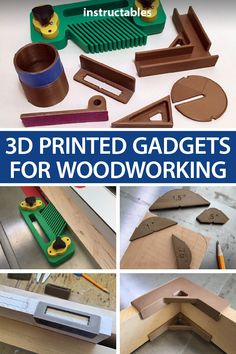 Check out this collection of simple printed gadgets designed with Fusion 360 that will help out with woodworking tasks. Woodworking Supplies, Woodworking Workshop, Woodworking Projects Diy, Woodworking Jigs, Woodworking Gadgets, Woodworking Techniques, Woodworking Furniture, 3d Printer Designs, 3d Printer Projects