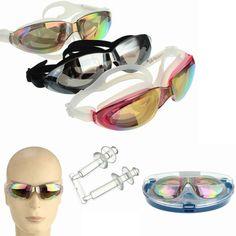 Sale 10% (6.27$) - Anti-fog Swimming Goggles Waterproof Swimming Glasses UV Protection