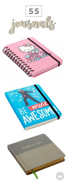 Does your little one love keeping a diary or doodling in their free time? These fun journals are the perfect way to encourage their creativity and will make a great kid's birthday present! Check out a wide variety of options at Hallmark.