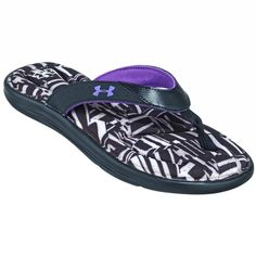 18be1ca644025 Under Armour Sandals  Women s 1273442 002 Black Marbella Chaos T Flip-Flop  Sandals