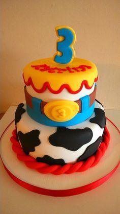 Toy story cake Toy Story Birthday Cake, 3rd Birthday Cakes, Baby Boy First Birthday, Toy Story Party, Bolo Toy Story, Toy Story Cakes, Beautiful Birthday Cakes, Beautiful Cakes, Sweet Cakes