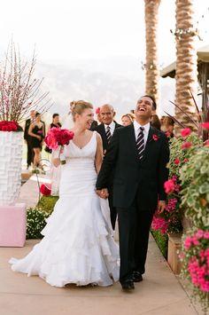 Red Desert Wedding