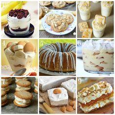 Go Bananas! NINE banana pudding recipes from Cake Journal