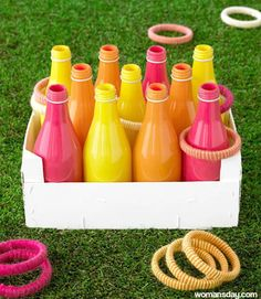 Trendy carnival games for kids party diy ring toss ideas Summer Crafts, Summer Fun, Summer Games, Summer 2014, Cool Diy, Easy Diy, Diy For Kids, Crafts For Kids, Gaming