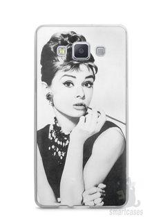 Capa Capinha Samsung A7 2015 Audrey Hepburn #1 - SmartCases - Acessórios para celulares e tablets :)