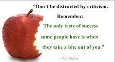 Don't Be Distracted!