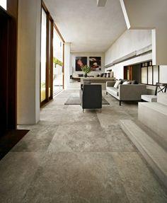 velvet platinum porcelain tiles from italy - large format tiles ... - Moderne Wohnzimmereinrichtung
