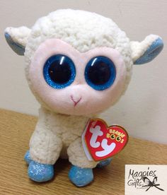 Getting ready for Easter with this colourful Lamb from TY now in stock at Magpies Gifts Magpies Gifts, Beanie Boos, Lamb, Plush, Teddy Bear, Easter, Toys, Animals, Character