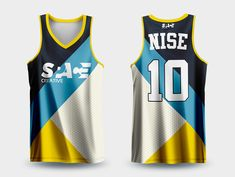 SOLERAS on Behance Volleyball Jersey Design, Sports Jersey Design, Basketball Design, Basketball Uniforms, Basketball Jersey, Football Shirts, Sports Shirts, Jersey Uniform, Athletic Women