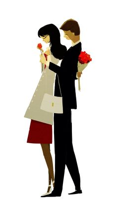 illustration by pascal campion Pascal Campion, Love Illustration, Wedding Illustration, Poster S, American Artists, Love Art, Concept Art, Art Drawings, Art Photography