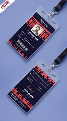 Download Free Corporate Company Photo Identity Card Template PSD. This Company Photo Identity Card Template PSD is a designed for Any types of corporate and small scale companies.