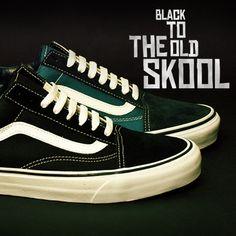 @Jessie Schuh  Vans Old Skool €70 The Vans Old Skool is an undisputed classic sneaker, and it's back, back in black, at Liffey Valley SC
