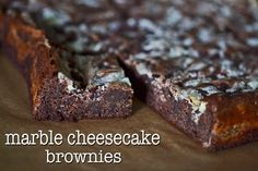 Marble Cheesecake Brownies | Gluten Free on a Shoestring