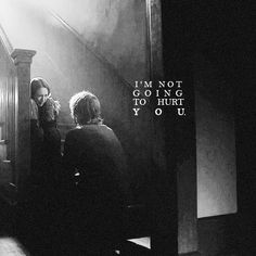 I'm not going to hurt you  {Tate Langdon and Violet Harmon}