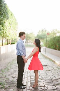 New York West Village Engagement Session. NYC Engagement Photography.
