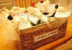 DIY Bridal Shower Wine Poems ---a total hit at any bridal shower!!