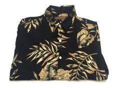 Tori Richard L Men's Viscose Short Sleeve Floral Hawaiian Shirt Large #ToriRichard #ButtonFront