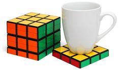 Cubo de Rubik posavasos