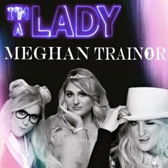 "psttt....if you'll look at the ""O"" in Trainor, you'll see a cute lil' detail from the #UntouchableTour  @meghan_trainor #meghantrainor #imaladymusicvideo #ImALady"