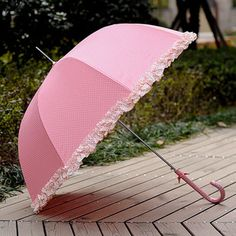 Pink Umbrella...I so want one of these....