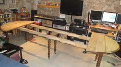 table six pieds Instructions de montage Do-it-yourself