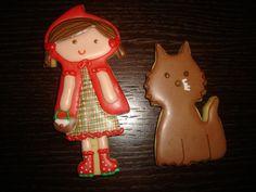 Galletas Caperucita Roja y el Lobo