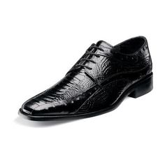 stacy adams fiorenza 24790 Mens bicycle toe oxford ostrich leg ostrich quill print leather upper leather sole