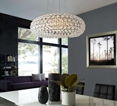 Halo Acrylic Crystal Chandelier from California Modern Classics Thinking this could be an interesting light fixture for the boys Halo 4 bedroom Chandelier Ceiling Lights, Pendant Chandelier, Modern Chandelier, Room Lights, Crystal Pendant Lighting, Crystal Chandeliers, Light Pendant, Dining Room Lighting, Home Lighting