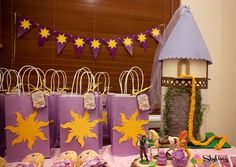 Rapunzel / Tangled Birthday Party Ideas | Photo 7 of 51 | Catch My Party