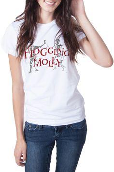 "Flogging Molly ""Dead Dancer"" Ladies S/S T-Shirt"