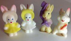 Vintage Gurley Easter Candles by NaturesWayNC on Etsy