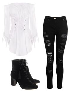 """""""Mila's casual wear"""" by pantsulord on Polyvore featuring Tabitha Simmons and Dorothy Perkins"""