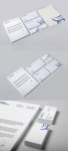 corporate identity Ester Office by Przemek Królikowski, via Behance