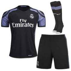 Real Madrid C.F 16-17 Season Third Soccer Whole Kit [G890]